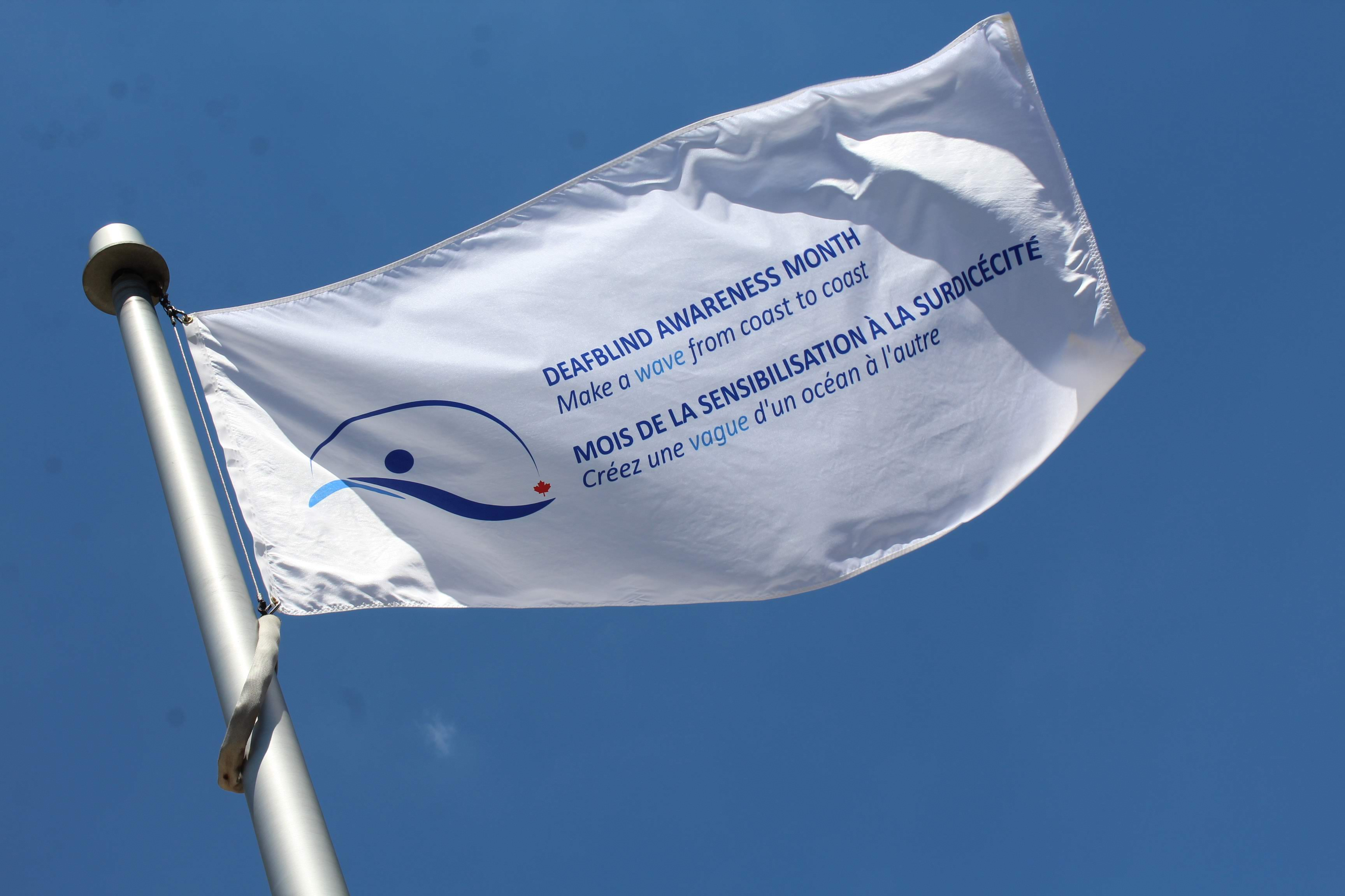Deafblind Awareness Month Flag