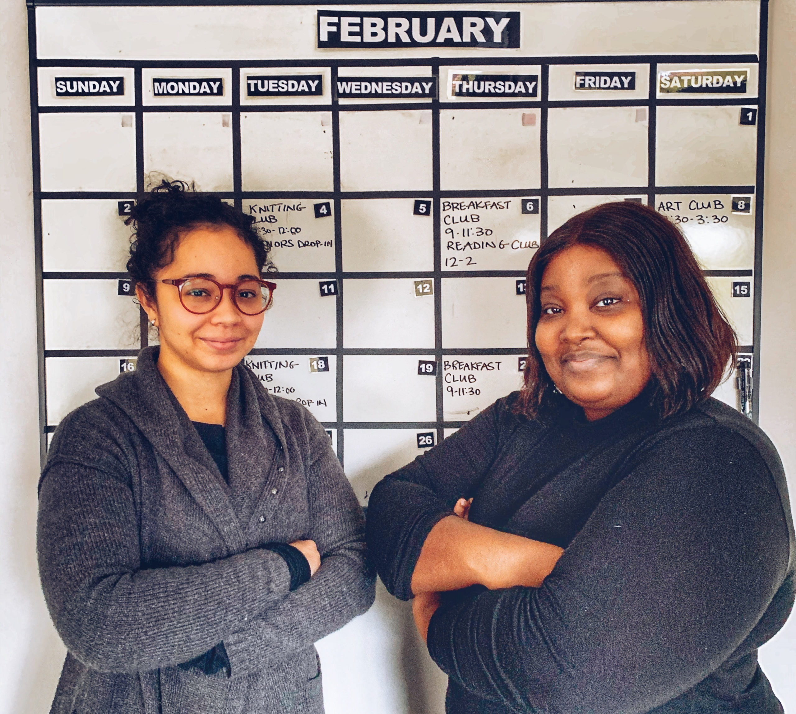 Susan & Deza are placement students at George Brown College