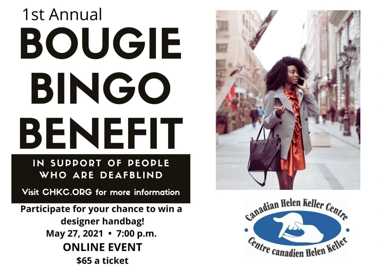 Bougie Bingo Online Event Maybe 27, 2021